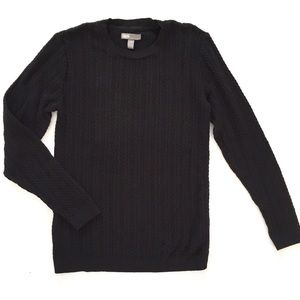 ASOS Black Cable knit Sweater